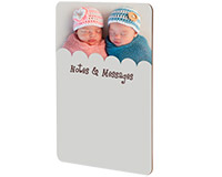 "Unisub Dry Erase Message Board 8""x10.3"""