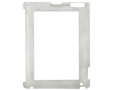 Unisub Chromaluxe iPad Mini White Textured Plastic Frame