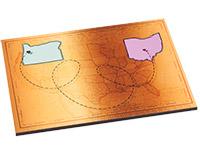 "Unisub 1/4"" Hardboard Tile 6""x7.875"""