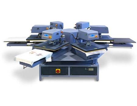 AIT CA1000 Air Automatic Carousel Heat Press