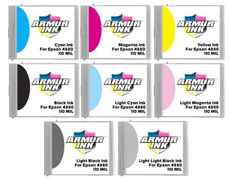 ArmurInk For Epson 4880 Printer