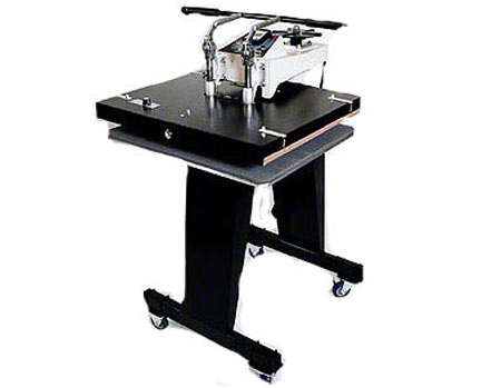 Geo Knight DK25S 20x25 Jumbo Heat Press swing away