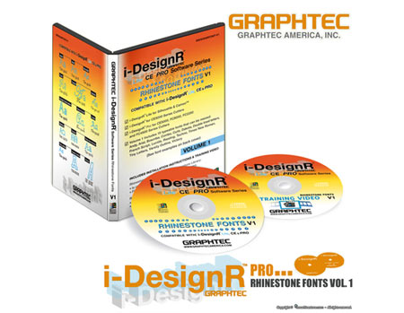 I-DesignR Rhinestone Font Volume 1
