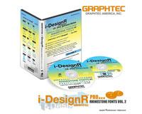 I-DesignR Rhinestone Font Volume 2