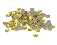 Citrine Yellow Rhinestones for Heat Transfer