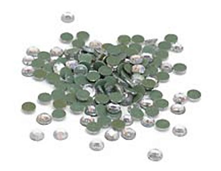 Clear Rhinestones for Heat Transfer