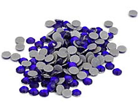 Cobalt Bulk Rhinestones for Heat Transfer