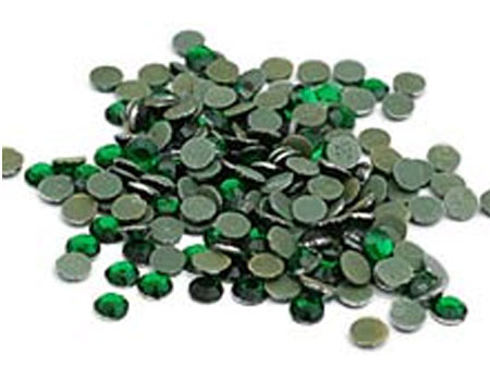 Emerald Bulk Rhinestones for Heat Transfer