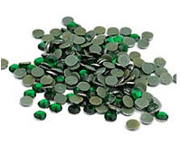 Emerald Rhinestones for Heat Transfer