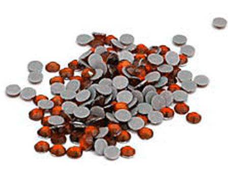 Orange Bulk  Rhinestones for Heat Transfer