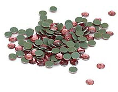 Pink Bulk Rhinestones for Heat Transfer
