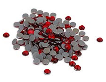 Red Bulk Rhinestones for Heat Transfer