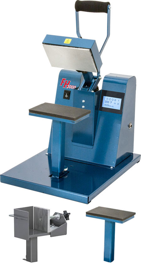 Hix FH-3000D Combo Heat Press