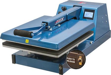 Hix N-880 16x20 Air Automatic Heat Press clamshell