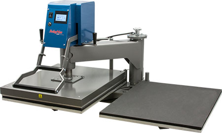 Hix Swingman 25 20x25 Twin Table Heat Press swing away