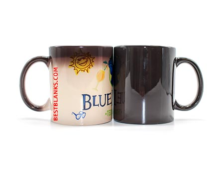Color Changing Ceramic Sublimation Mug 11oz