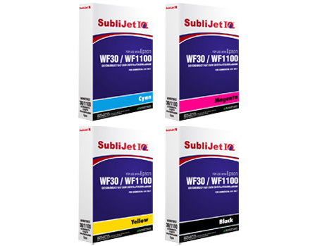 Sublijet iQ Sublimation Ink Bags - Epson WF30, C120, C88, C86 & C84