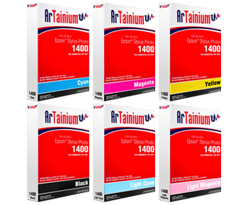 Epson 1430, 1400, 1280 Artainium UV Sublimation Ink Bags