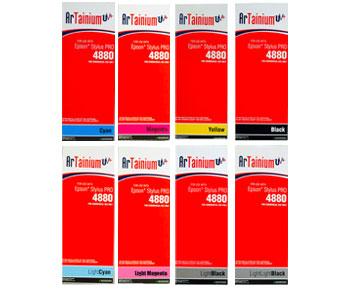 Epson 4880 Artainium UV Sublimation Ink Extended Cartridges