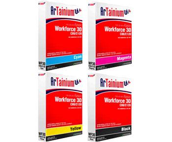 Epson WF30, C120, C88 Artainium UV Sublimation Ink Bags