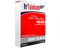 Epson 4880 Artainium UV  Sublimation Ink - Light Black