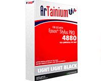Epson 4880 Artainium UV  Sublimation Ink - Light Light Black