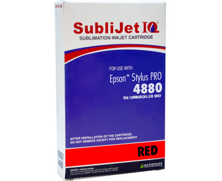 Epson 4880 SubliJet IQ  Sublimation Ink - Red