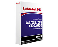 Epson C84/C86/C88/C120/WF30 SubliJet IQ Sublimation Ink Refill Bag Black
