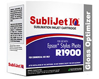 Epson R1900 SubliJet IQ Optimizer