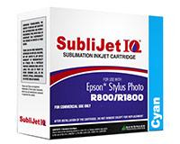 Epson R800/R1800 SubliJet IQ Sublimation Ink - Cyan