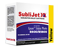 Epson R800/R1800 SubliJet IQ Sublimation Ink - Yellow