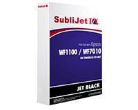 Epson WF1100/WF7010 SubliJet IQ Sublimation Ink Refill Bag Jet Black