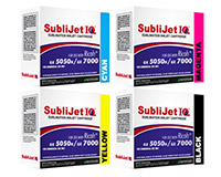 Ricoh GX7000/GX5050N Sublimation Ink - Sublijet R Cartridges