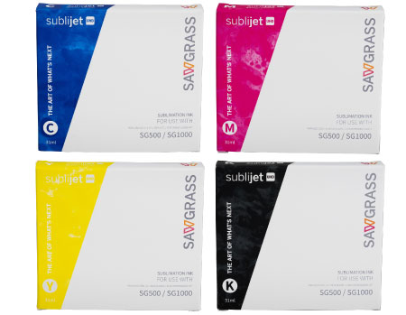 Sawgrass Virtuoso SG1000 Sublimation Ink - Sublijet HD Extended Cartridges