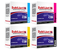 Sublijet IQ Sublimation Ink Cartridges - Epson WorkForce C120 Printer