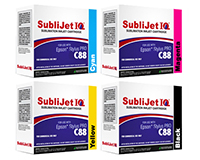 Sublijet IQ Sublimation Ink Cartridges - Epson WorkForce C88 Printer