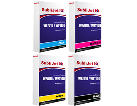 Sublijet IQ Sublimation Ink Bags Epson WF7010 - WF1100 Printers