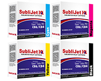 Sublijet IQ Sublimation Ink Cartridges - Epson WorkForce C84 - C86 Printer