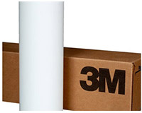 3M 680CR Flexible Removable Reflective Graphic Film 24x10