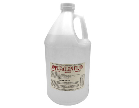 Quick Stick Application Fluid 1gal