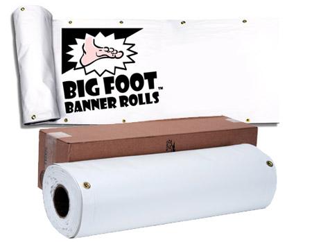 Big Foot Banner Rolls 36x10 Yards