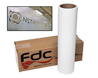 FDC 3500 Sign Vinyl Etched Glass Film 30x10