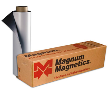 Magnum Magnetics 20 Mil White Matte SignMag Magnetic Roll 24x25
