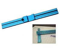 T Square For Safety Ruler Sooper Edge and Big Blue