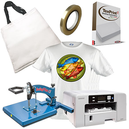 Swing-Away Press Sublimation Bundle