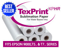 "Beaver TexPrintXP-HR Sublimation Heat Transfer Paper 36""x275'"