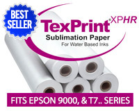 "Beaver TexPrintXP-HR Sublimation Heat Transfer Paper 44""x275'"