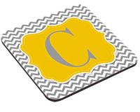 "Unisub Hardboard Coaster - 3.75"" Square with Cork Bottom"