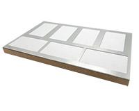 Unisub Production Jig - For U5655 Bag Tag 2.5x4.25 - Prints 7
