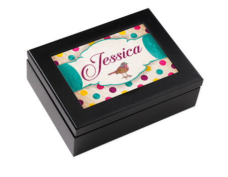 "Unisub Keepsake Box - Espresso Black 6""x8"" with 4""x6"" insert"